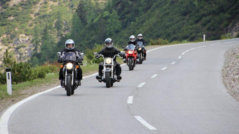 Motorradfahren mit Genuss