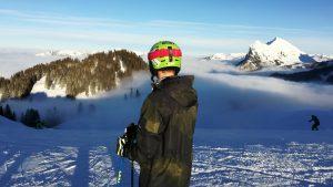 Skifahren in Wengen