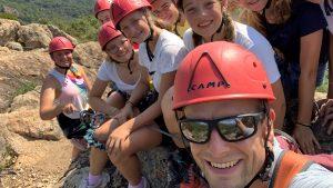 2019_Jugendcamp_Jugendliche_Klettern_Action_Ausflug