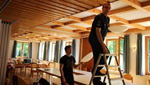 Renovierungsarbeiten im Haus