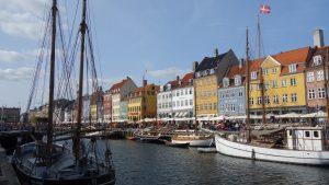 Auch in Städten - wie hier Kopenhagen - sind wir unterwegs.