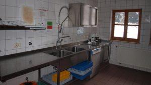 Spülbereich der Küche