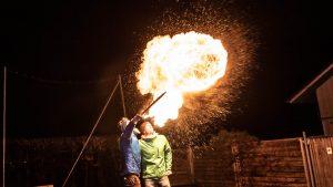 Unser Feuerwerk an Silvester